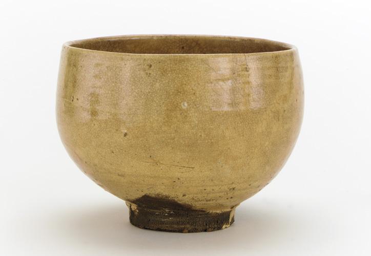 Hagi-yaki, bol à thé japonais, xviiie‑xixe siècles, Freer Gallery of Art