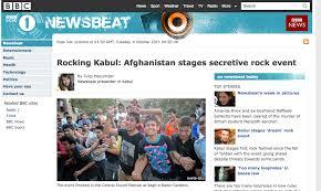 newsbeat page d'accueil, ancienne version