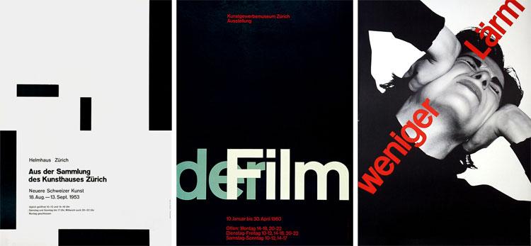 affiches de josef müller-brockmann