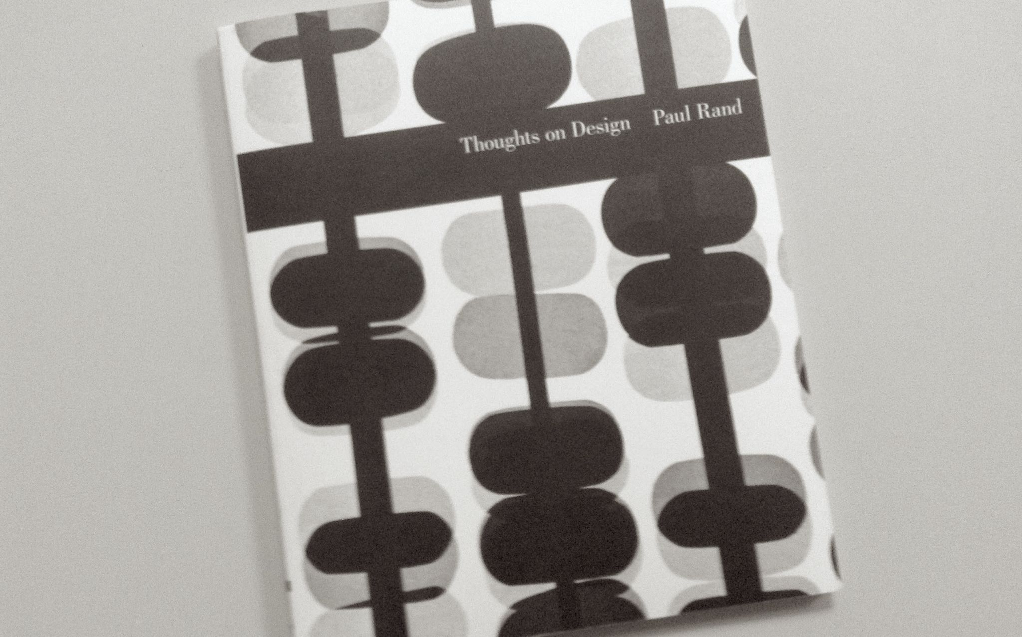 Thoughts on Design, par Paul Rand