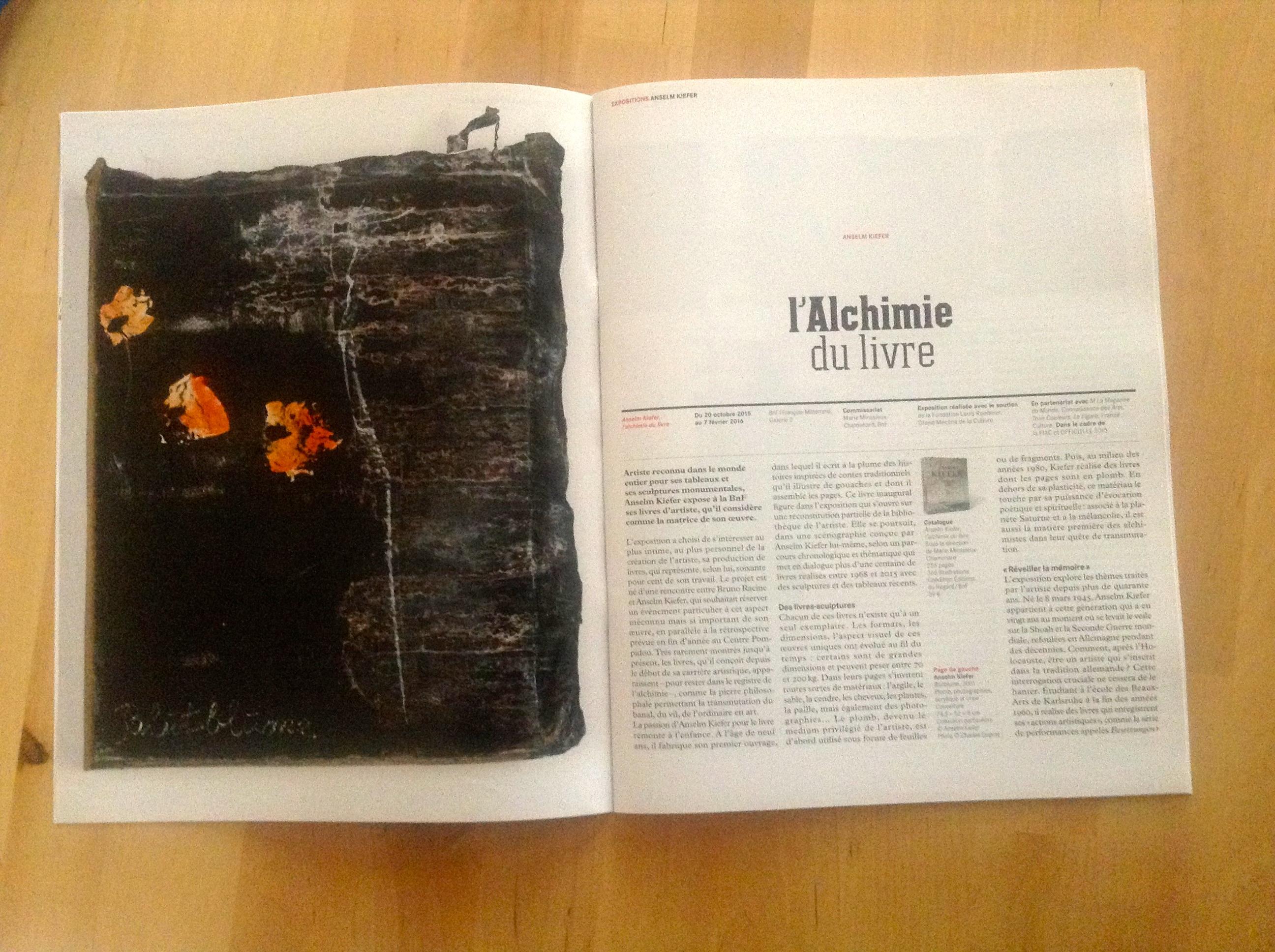 chroniques, double page intérieure