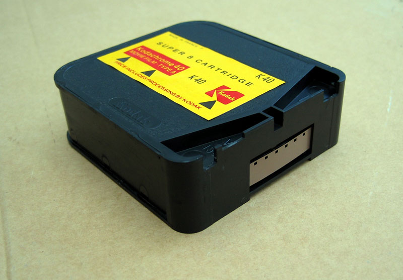 Super8 Kodak cartridge