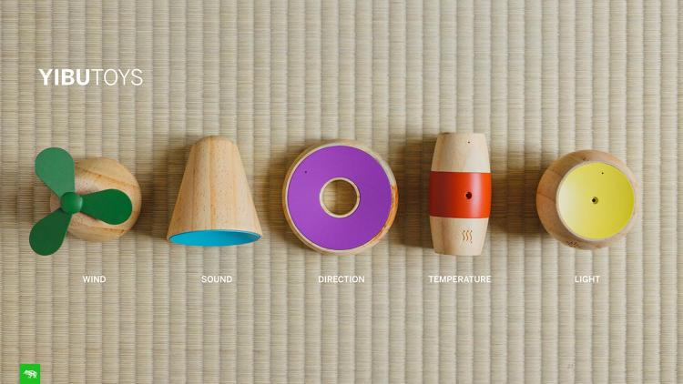 Yibu - Les cinq capteurs...