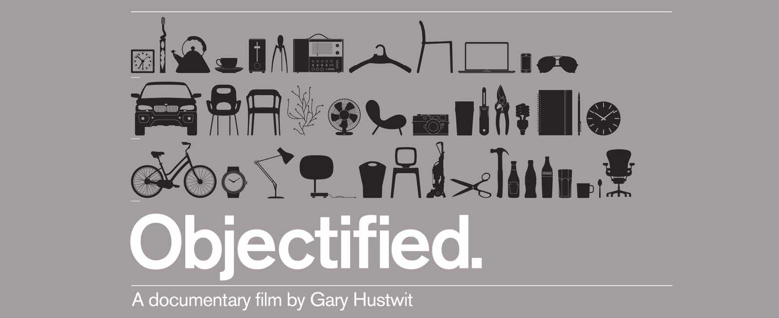 affiche objectified gary hustwit